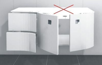 2 Türen + 2 Auszüge