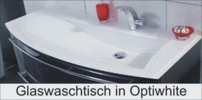 Glas Optiwhite Waschtisch