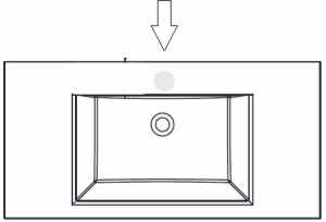 puris brillant badm bel 60 cm glaswaschtisch. Black Bedroom Furniture Sets. Home Design Ideas