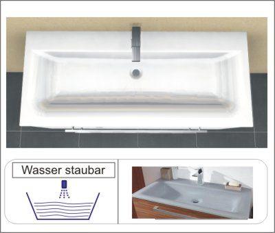 Glas Quarzitgrau | 1 Armatur | Clou System