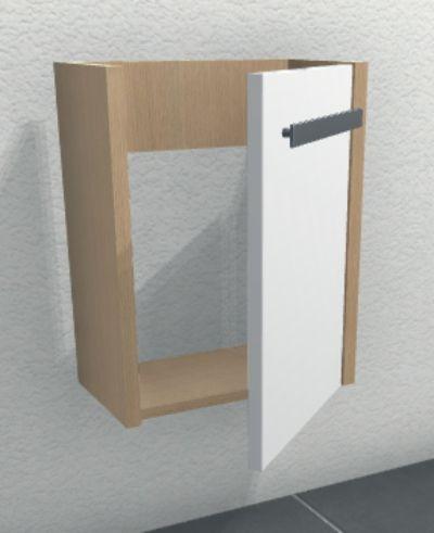 Waschrisch Unterschrank | Anschlag Rechts