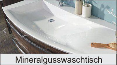 Mineralguss Waschtisch