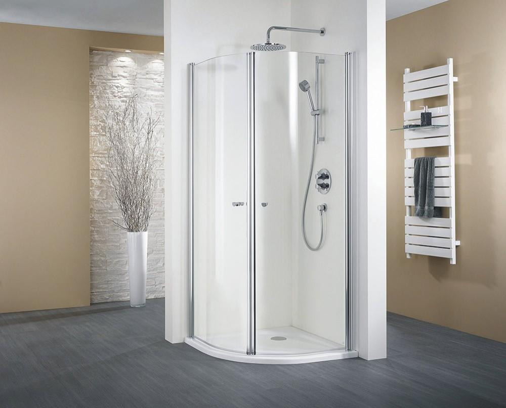 hsk duschkabine exklusiv a viertelkreisdusche 2 dreht ren arcom center. Black Bedroom Furniture Sets. Home Design Ideas