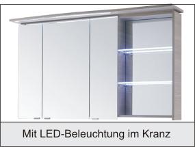PELIPAL CONTEA Set B 119 cm - Badmöbel - Arcom Center | {Spiegelschrank mit beleuchtung und ablage 42}