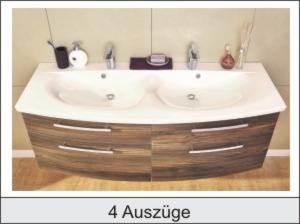 Doppelwaschbecken Mit Unterschrank 140