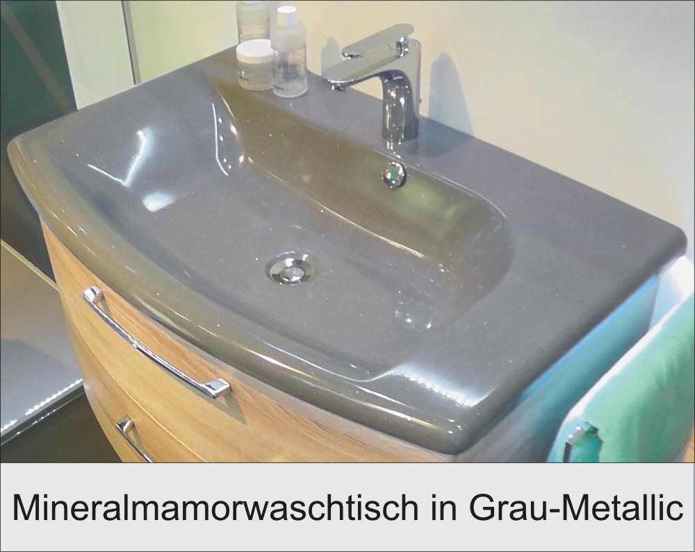 Pelipal Solitaire 7005 Waschtisch Grau Badmöbel