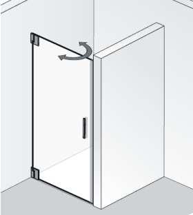 HSK K2P Dusche Nische