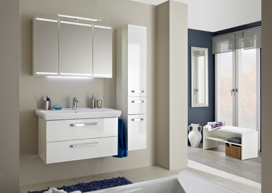 badezimmer f r den start in den tag. Black Bedroom Furniture Sets. Home Design Ideas