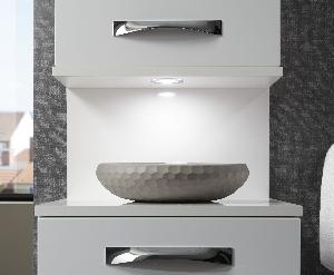 marlin bad 3130 azure hochschrank 40 cm. Black Bedroom Furniture Sets. Home Design Ideas