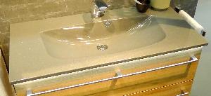 Waschtisch B | Grau Metallic