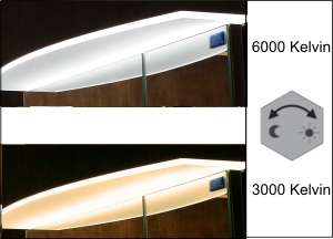 Acrylboden | Regelbar (3000 - 6000K)