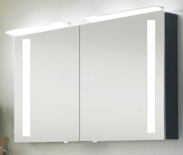 Marlin Bad 3130 - Azure Spiegelschrank L   120 cm