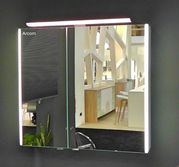 PCON Spiegelschrank   LED-Beleuchtung   72 cm