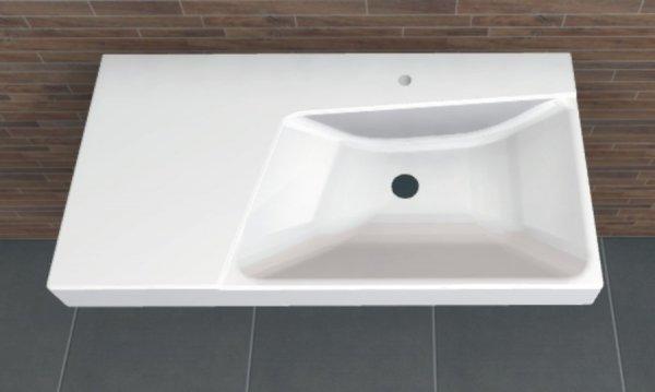 keramag xeno 90 cm waschtisch arcom center. Black Bedroom Furniture Sets. Home Design Ideas