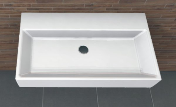 PCON Waschtisch C | Villeroy & Boch Memento | 80 cm