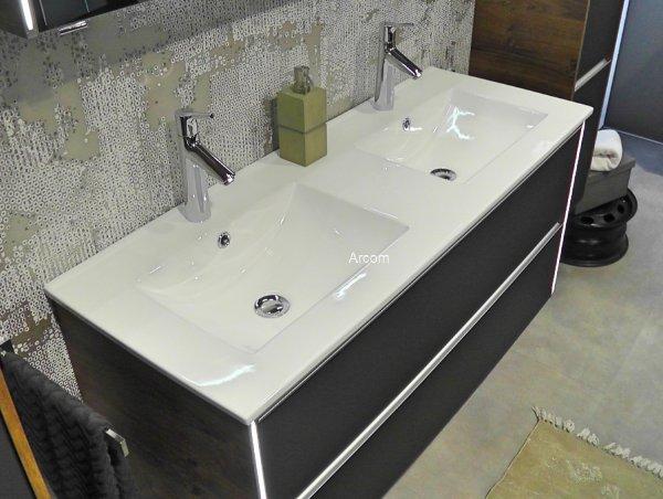 Pelipal Solitaire 6040 Doppel Waschtisch Mit Unterscrank Breite 121