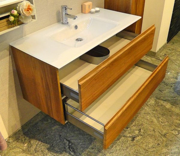 puris ace 120 cm set b badm bel exclusiv. Black Bedroom Furniture Sets. Home Design Ideas