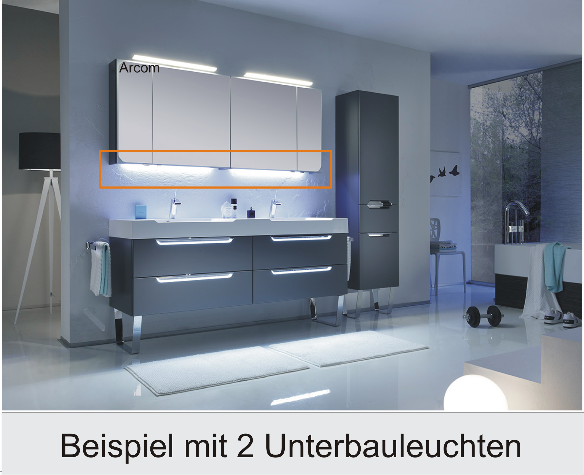 pelipal s5 led zusatzbeleuchtung arcom center. Black Bedroom Furniture Sets. Home Design Ideas