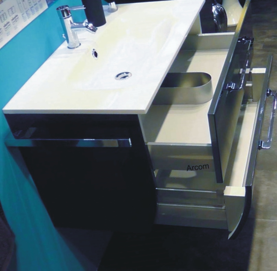 marlin azure waschtisch unterschrank 100 cm arcom center. Black Bedroom Furniture Sets. Home Design Ideas