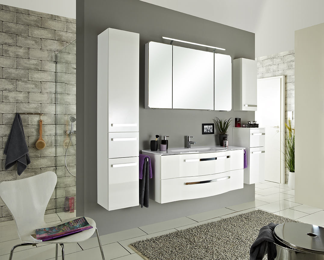 Fokus 4005 schr nke in vielen farben arcom center for Badezimmer highboard