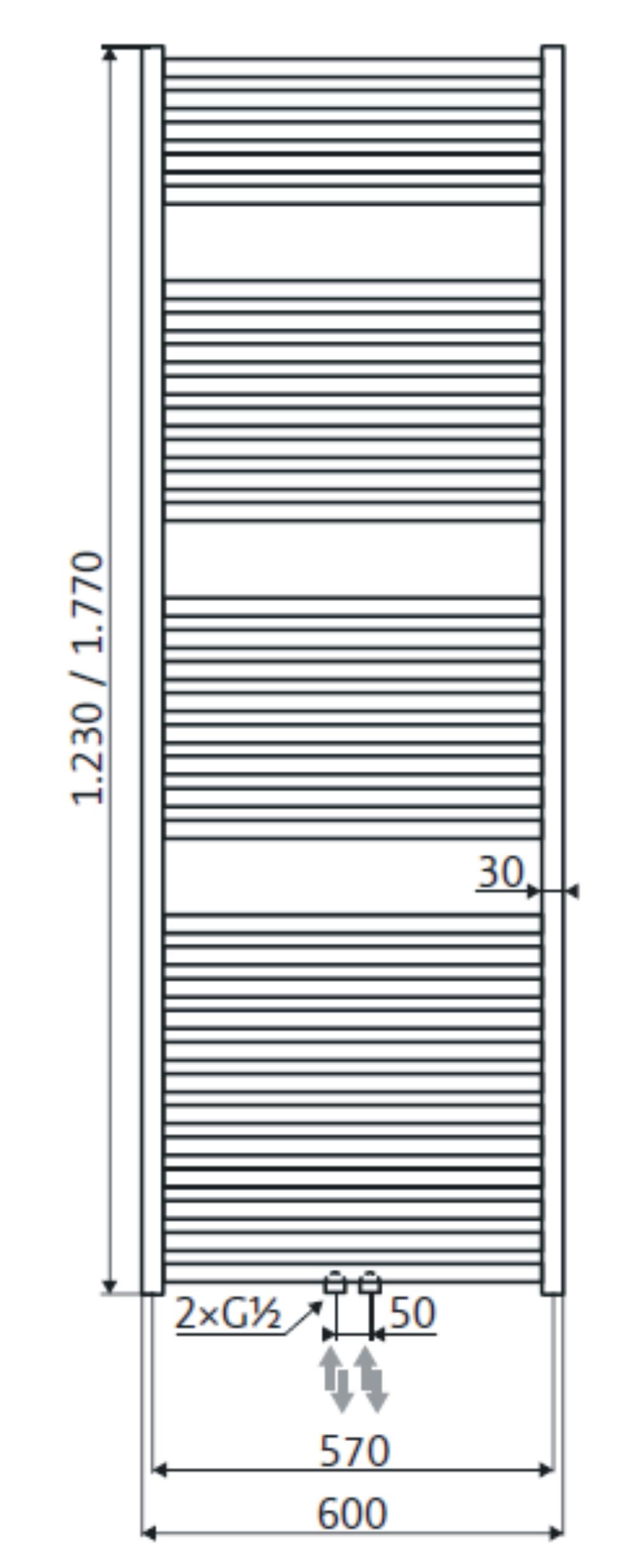 hsk handdoekradiator line 114935 ontwerp inspiratie voor de badkamer en de kamer. Black Bedroom Furniture Sets. Home Design Ideas