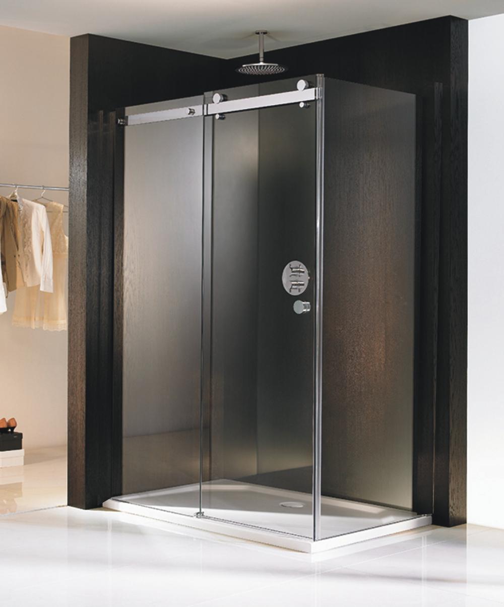 hsk duschkabine atelier pur gleitt r seitenwand arcom center. Black Bedroom Furniture Sets. Home Design Ideas