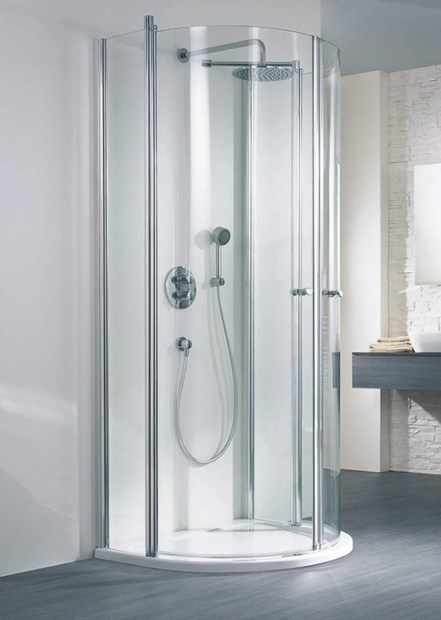 hsk duschkabine exklusiv a halbkreisdusche 2 dreht ren arcom center. Black Bedroom Furniture Sets. Home Design Ideas
