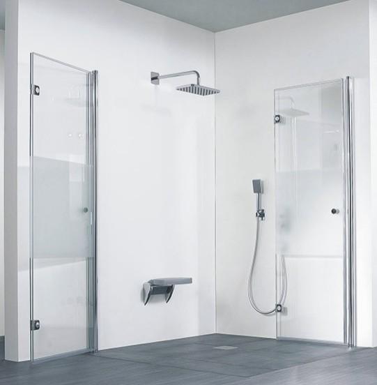 hsk duschkabine exklusiv c eckdusche 2 drehfaltt ren arcom center. Black Bedroom Furniture Sets. Home Design Ideas