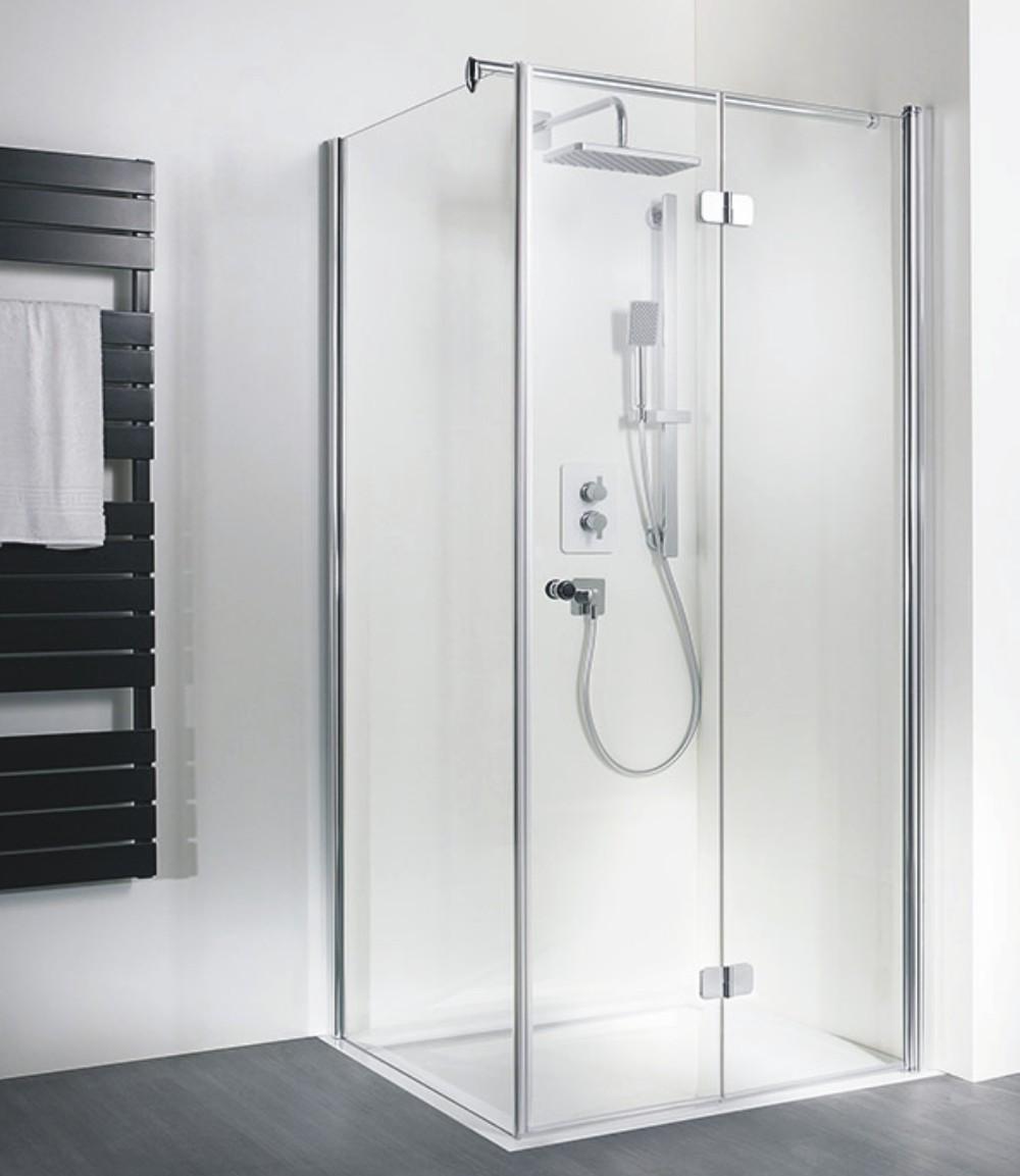 hsk duschkabine exklusiv c rechteck dusche drehfaltt r arcom center. Black Bedroom Furniture Sets. Home Design Ideas