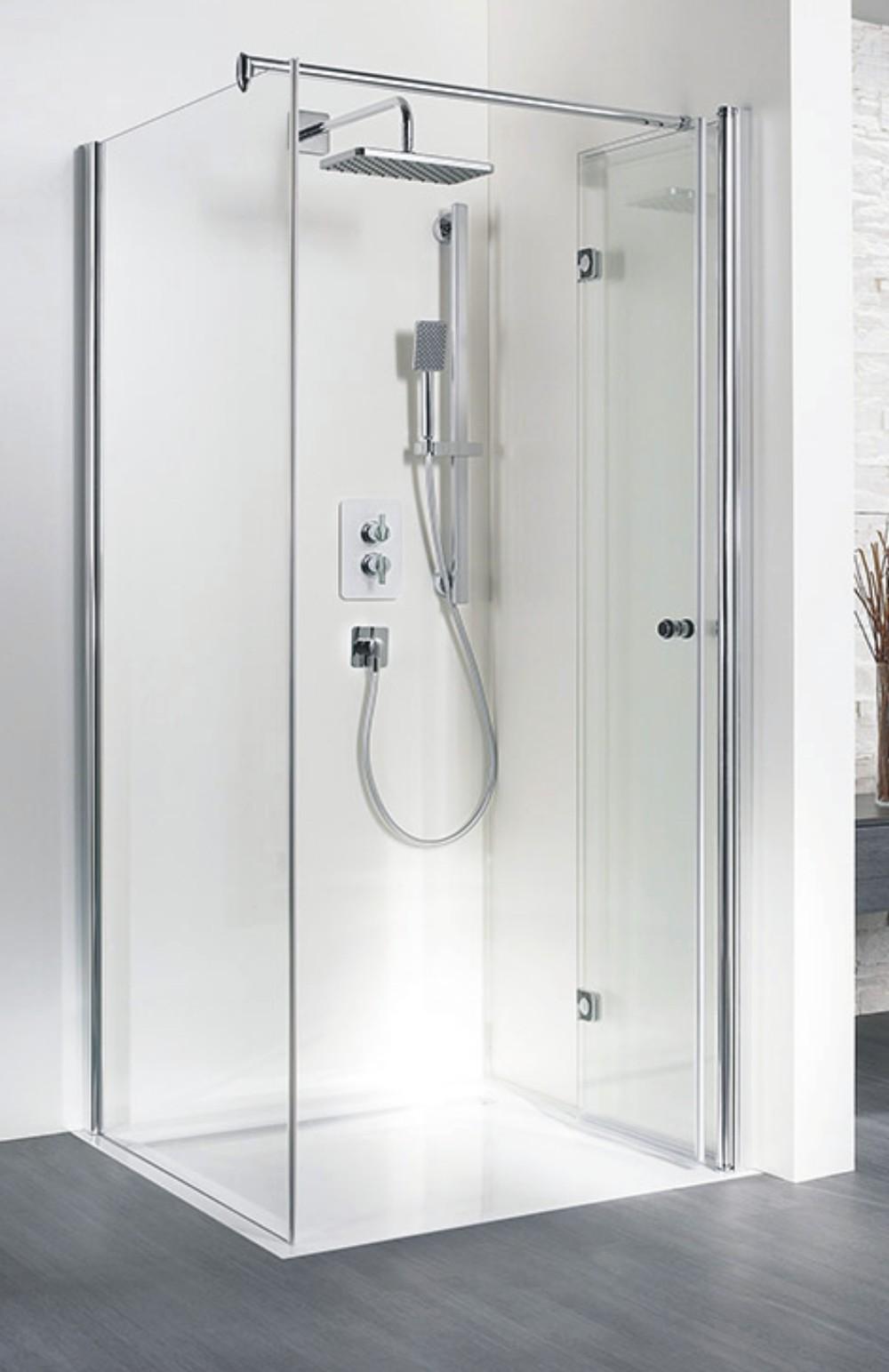 hsk duschkabine exklusiv c rechteck dusche drehfaltt r. Black Bedroom Furniture Sets. Home Design Ideas