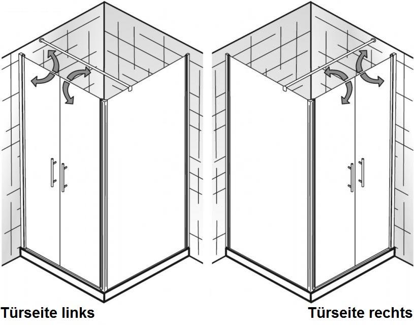 hsk duschkabine favorit nova a rechteck dusche pendelt r arcom center. Black Bedroom Furniture Sets. Home Design Ideas