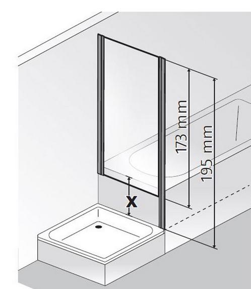 hsk duschkabine favorit nova d rechteck dusche dreht r verk rzter seitenwand arcom center. Black Bedroom Furniture Sets. Home Design Ideas