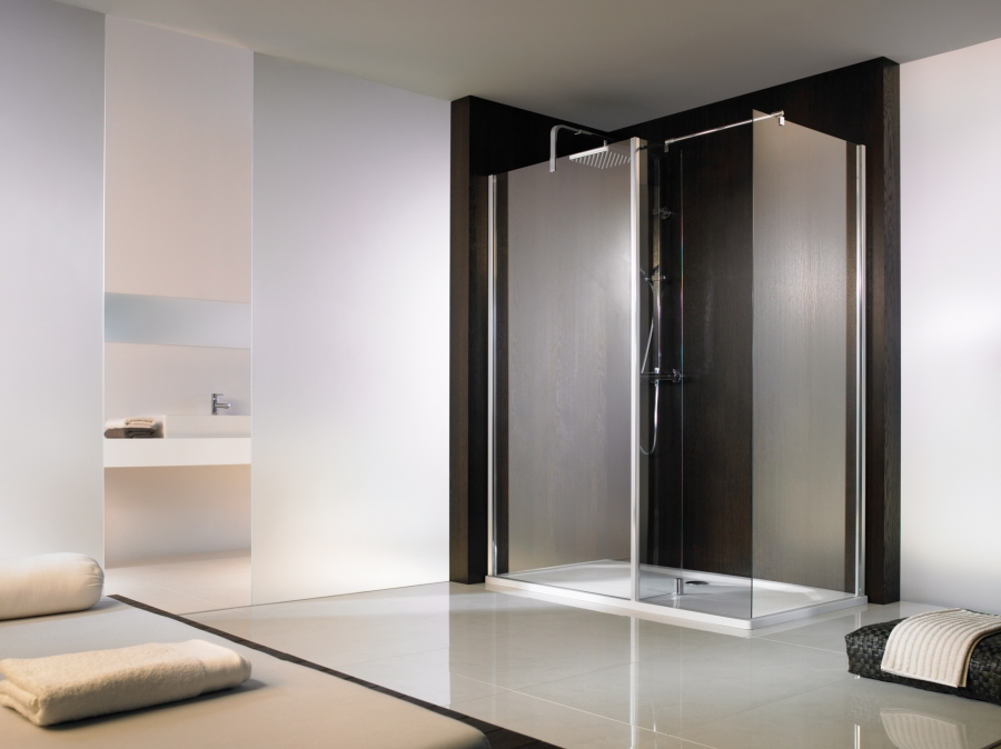 hsk duschkabine walk in arcom center. Black Bedroom Furniture Sets. Home Design Ideas