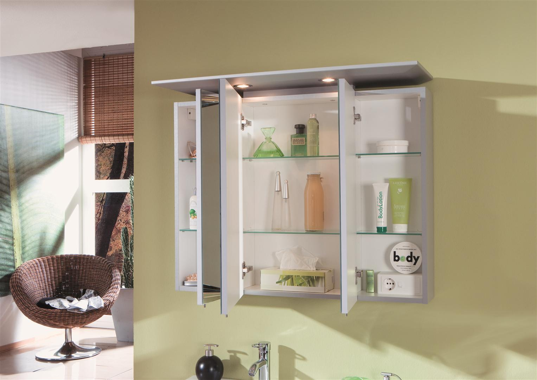 marlin bad 3040 city plus spiegelschrank a halogenleuchte gerader oberboden 90 cm arcom. Black Bedroom Furniture Sets. Home Design Ideas