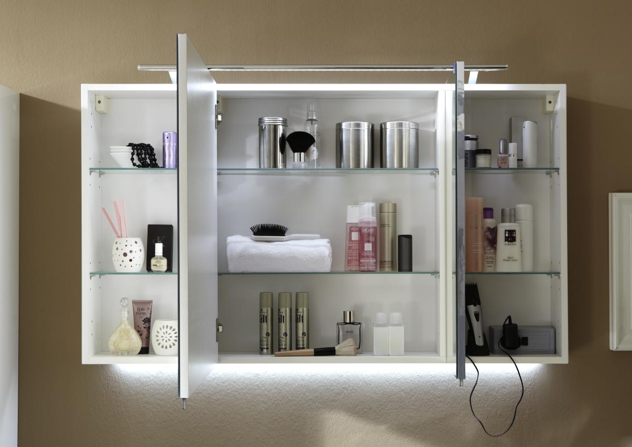 marlin city plus spiegelschrank c led beleuchtung ll94 120 cm arcom center. Black Bedroom Furniture Sets. Home Design Ideas