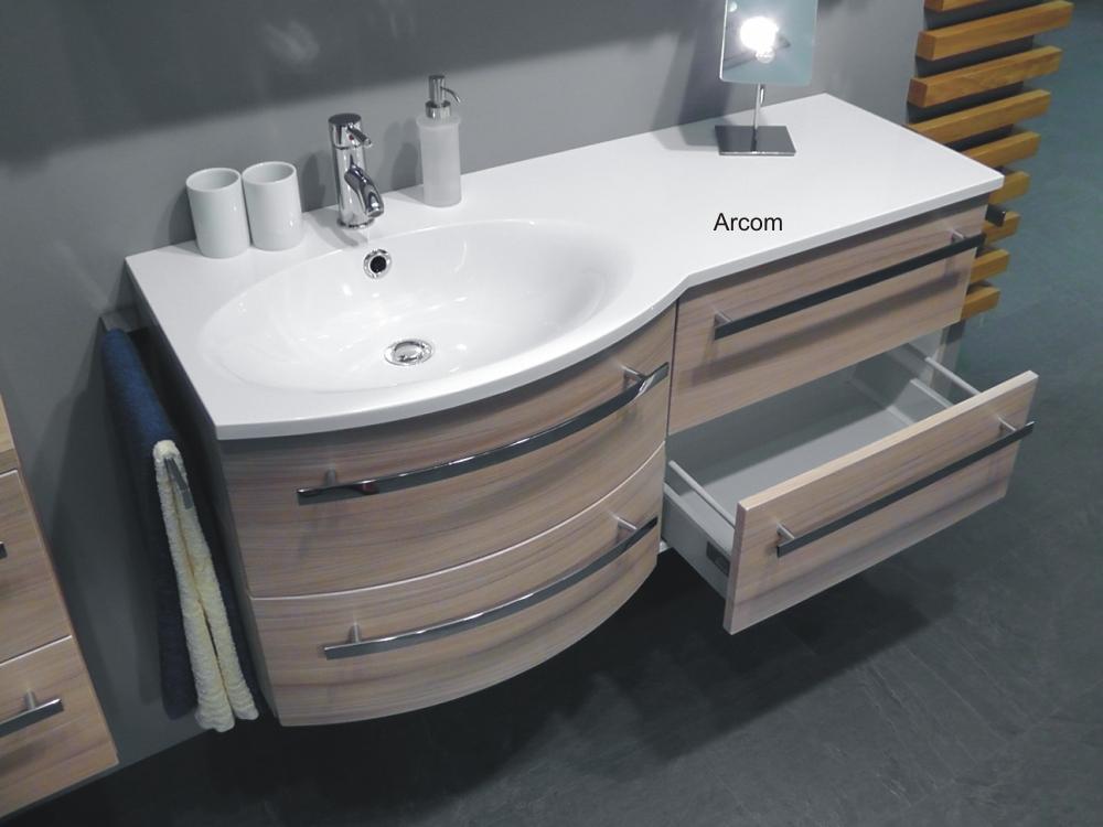 marlin bad 3090 cosmo wt unterschrank 60 cm gerade mit 2 ausz gen arcom center. Black Bedroom Furniture Sets. Home Design Ideas