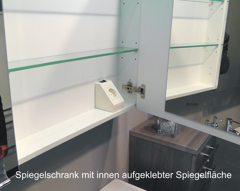 Frisch Badezimmer Spiegelschrank Beleuchtet: Marlin Bad 3170 Mybad BM62