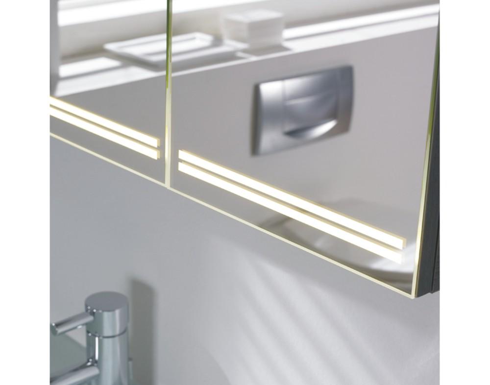 pelipal pcon spiegelschrank led beleuchtung 90 cm arcom center. Black Bedroom Furniture Sets. Home Design Ideas