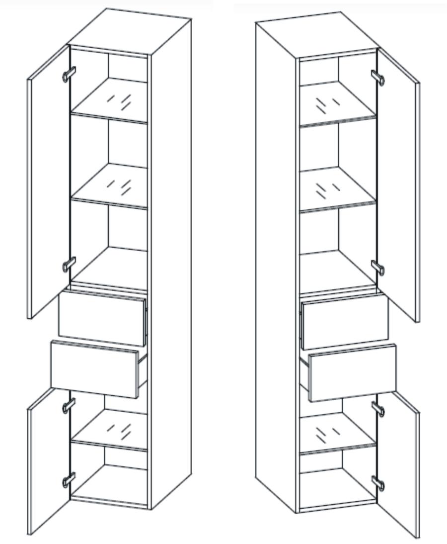 pelipal filo badschrank badm bel shop arcom center. Black Bedroom Furniture Sets. Home Design Ideas