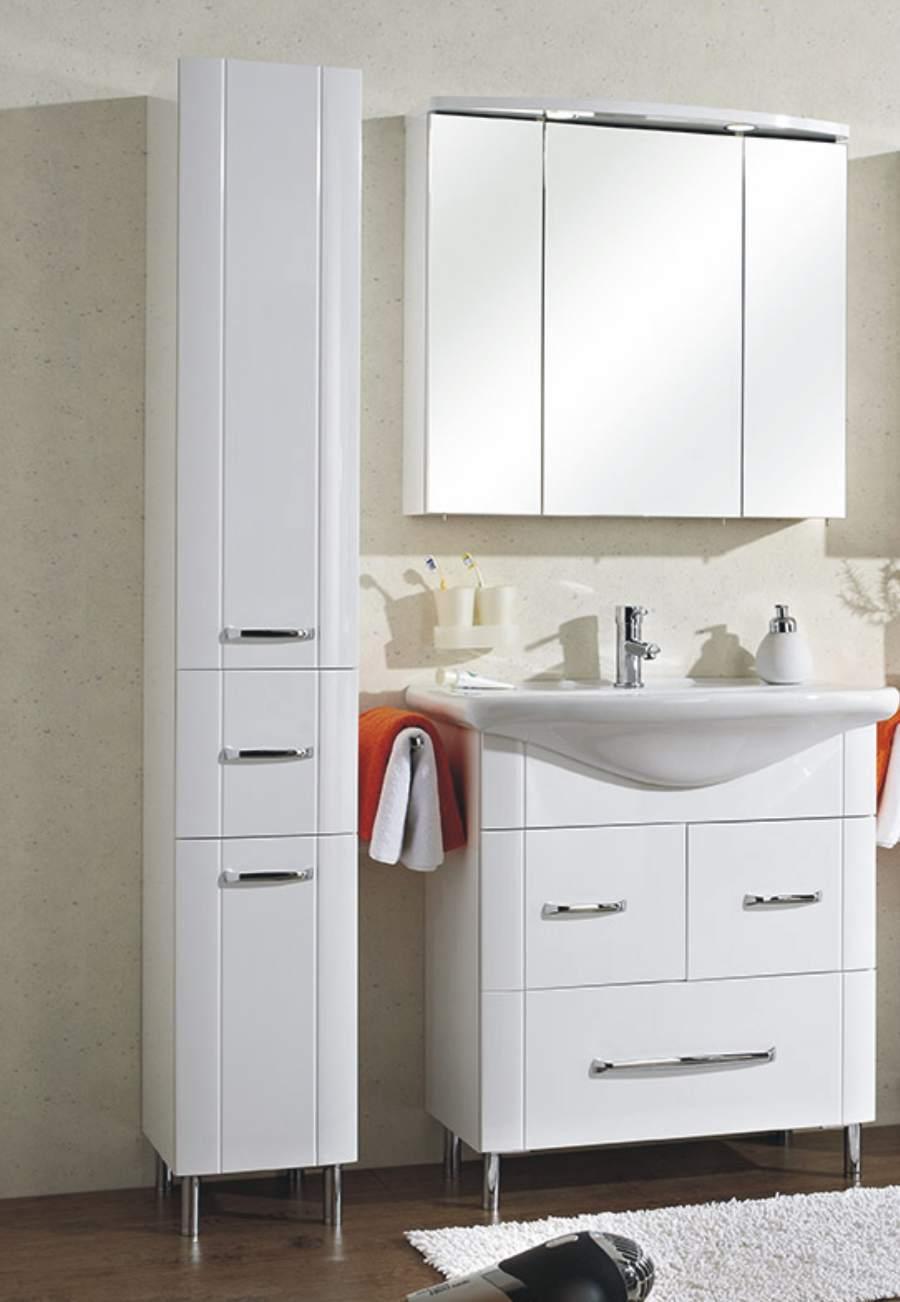 hochschrank fokus 3005 badschrank g nstig arcom center. Black Bedroom Furniture Sets. Home Design Ideas