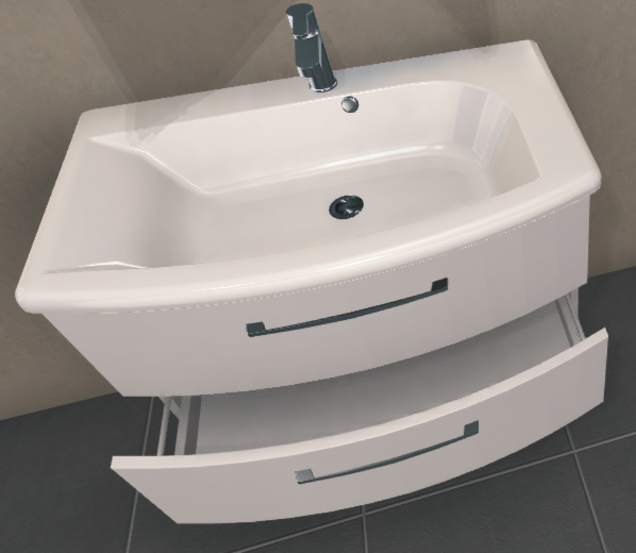 pelipal solitaire 7005 set 85 cm badm bel arcom center. Black Bedroom Furniture Sets. Home Design Ideas