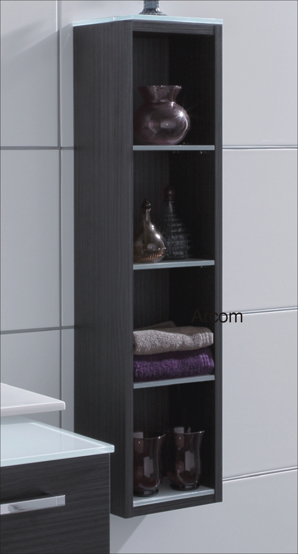 regal for guests schr nke in vielen farben arcom center. Black Bedroom Furniture Sets. Home Design Ideas