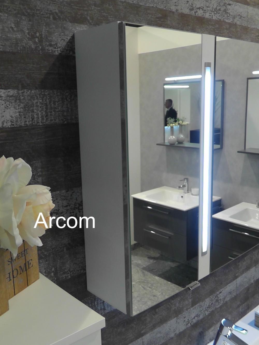 puris fresh set g mit doppelwaschtisch badm bel arcom center. Black Bedroom Furniture Sets. Home Design Ideas