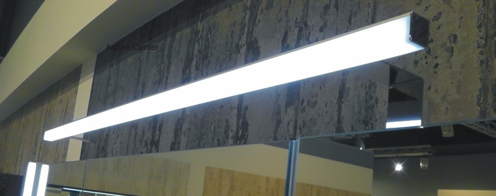 puris fresh led aufbauleuchte 80 cm badm bel arcom center. Black Bedroom Furniture Sets. Home Design Ideas