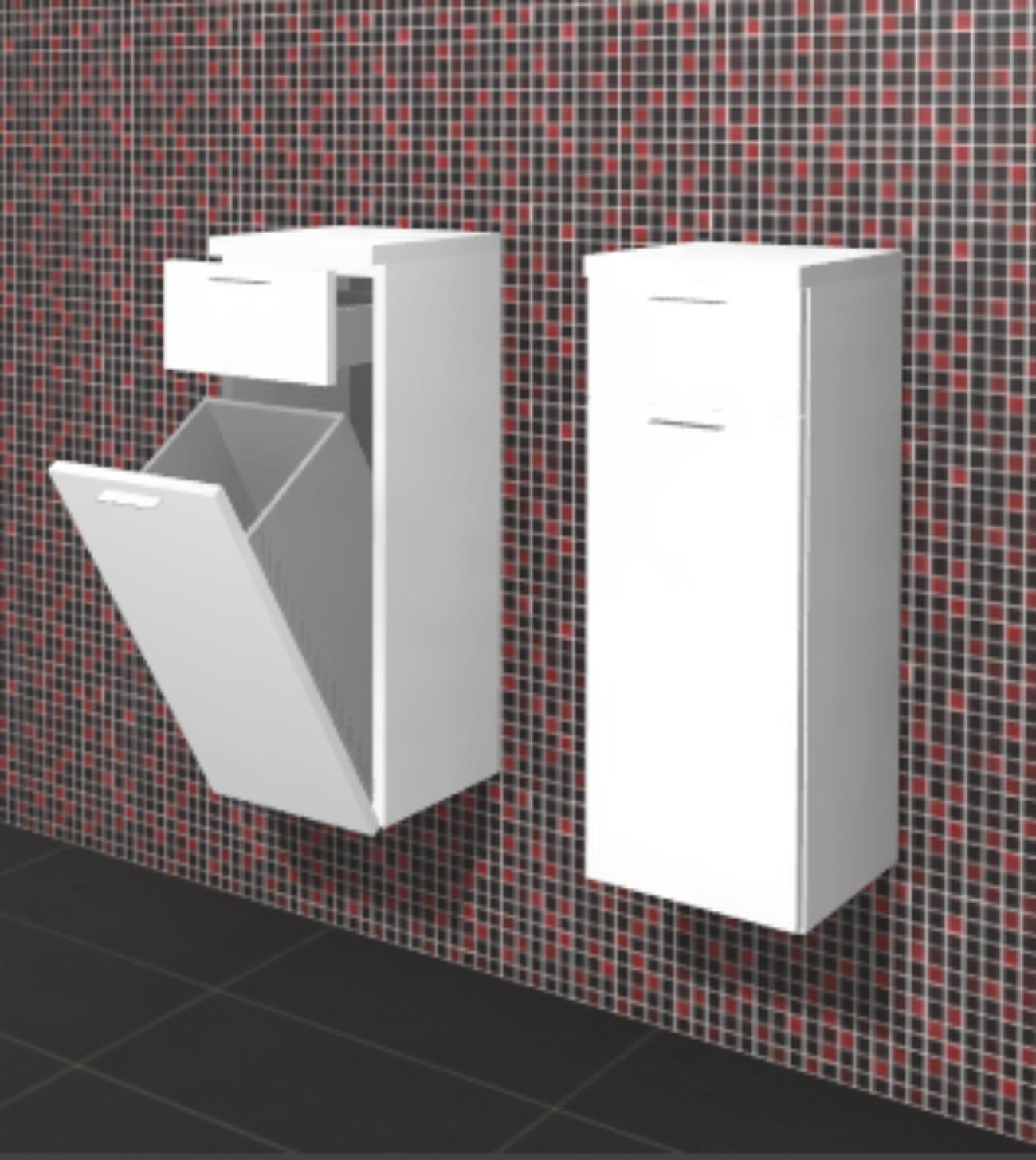 linea highboard badschrank g nstig arcom center. Black Bedroom Furniture Sets. Home Design Ideas