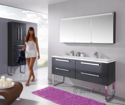puris star line waschtisch serie a 140 cm arcom center. Black Bedroom Furniture Sets. Home Design Ideas