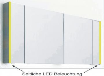 PCON Spiegelschrank mit LED-Beleuchtung 152 cm