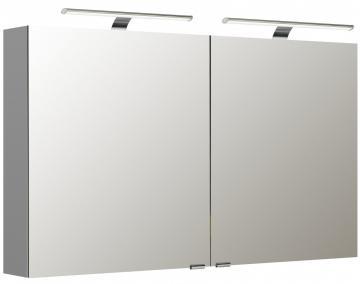 Pelipal Neutraler Spiegelschrank S5-SPSD 20 Doppelt verspiegelt Typ II 120 cm