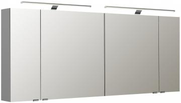 Pelipal Neutraler Spiegelschrank S5-SPSD 32 Doppelt verspiegelt Typ II 170 cm