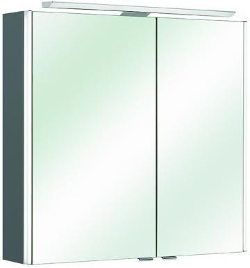 Pelipal Neutraler Spiegelschrank S10-SPS 08 LEDplus Typ I 72 cm